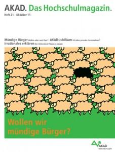 Neues AKAD-Hochschulmagazin Heft 21 | Oktober 2011